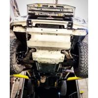 ADHD - Adventure Driven Hardcore Design | Gen 2 Superleggera Mitsubishi Montero Lightweight Aluminum Plate Armor Set