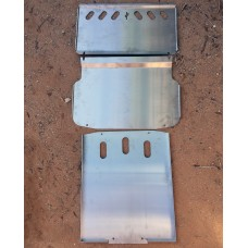 ADHD - Cold Rolled Steel Skid Series - 3 Piece pack - Mitsubishi Montero Gen 3 CRS skid plate armor - 2001-2006 - Full Set