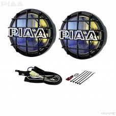 PIAA 520 Plasma Ion Yellow 85W Driving Light Kit - Black