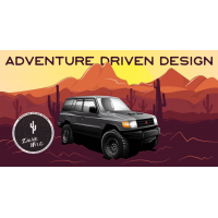 ADD | Adventure Driven Design | Rad 4x4 Graphic T-Shirt | Men's and Women's