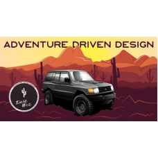 ADD | Adventure Driven Design | Rad 4x4 Graphic T-Shirt | Men's and Women's