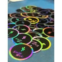 ADD Drive Wild Sticker - Adventure Driven Design - 3 inch holographic sticker