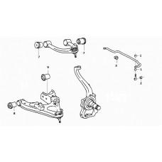 Adventure Driven | Landcruiser 100 Series Front Suspension kit